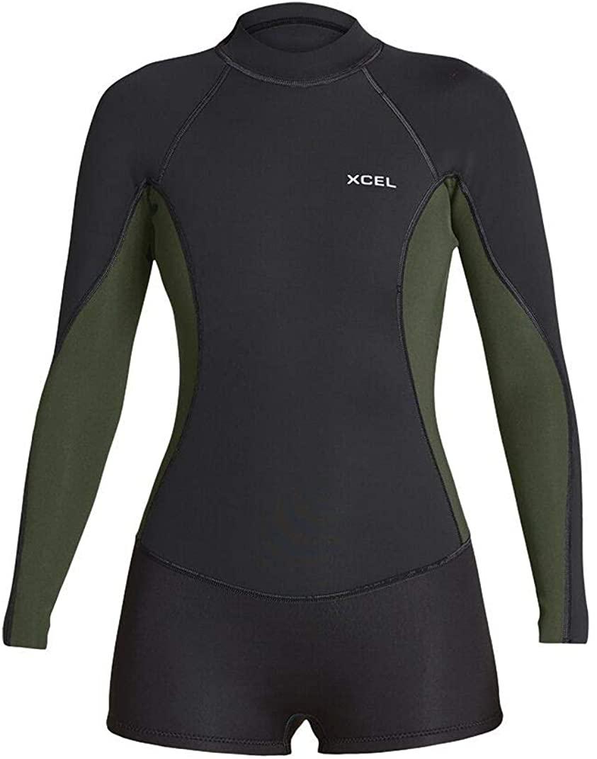 XCEL Womens Axis Long Sleeve 2/1mm Springsuit