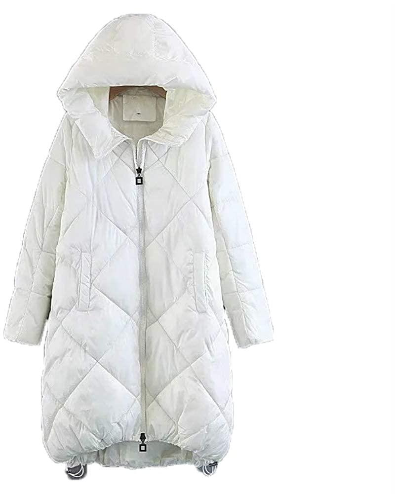 frdmbeauty Women's Winter Hooded Mighty Lite Hooded Insulated Jacket Warm Winter Coat
