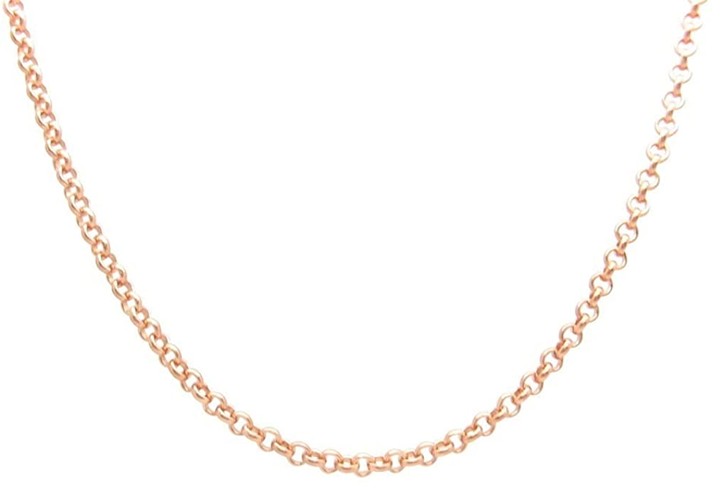 11 Inch Solid Copper Anklet CA691G-11AP - 1/8 of an inch Wide - Made in The USA
