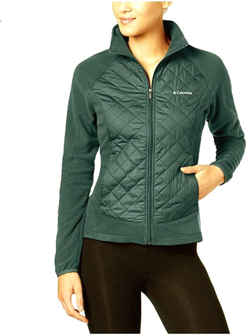 Columbia Warmer Days Quilted Jacket, Light Pastel Green, Medium