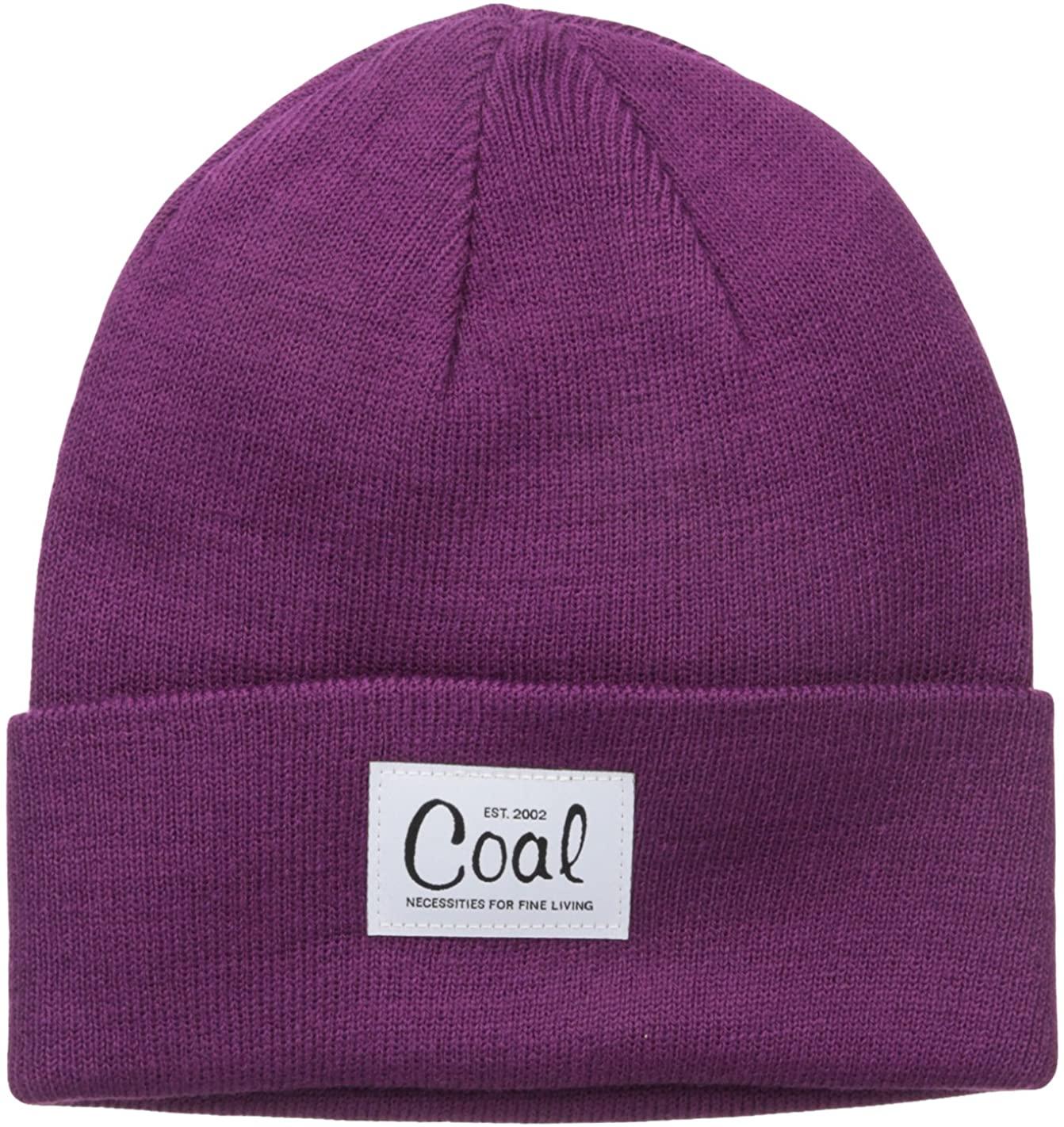Coal Women's The Mel Fine Knit Workwear Cuffed Beanie Hat