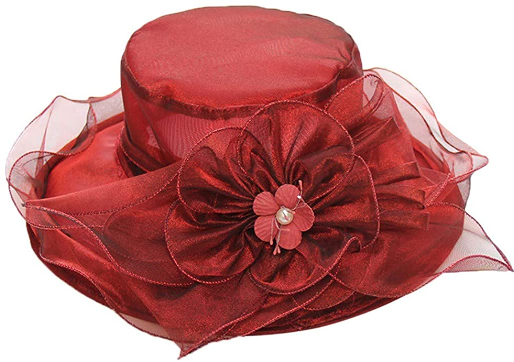 Farmerl Women's Church Kentucky Derby Fascinator Bridal Tea Party Wedding Hat