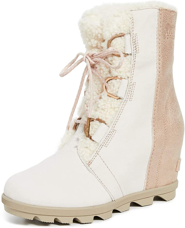 Sorel Womens Joan of Arctic Wedge II Luxe Boots