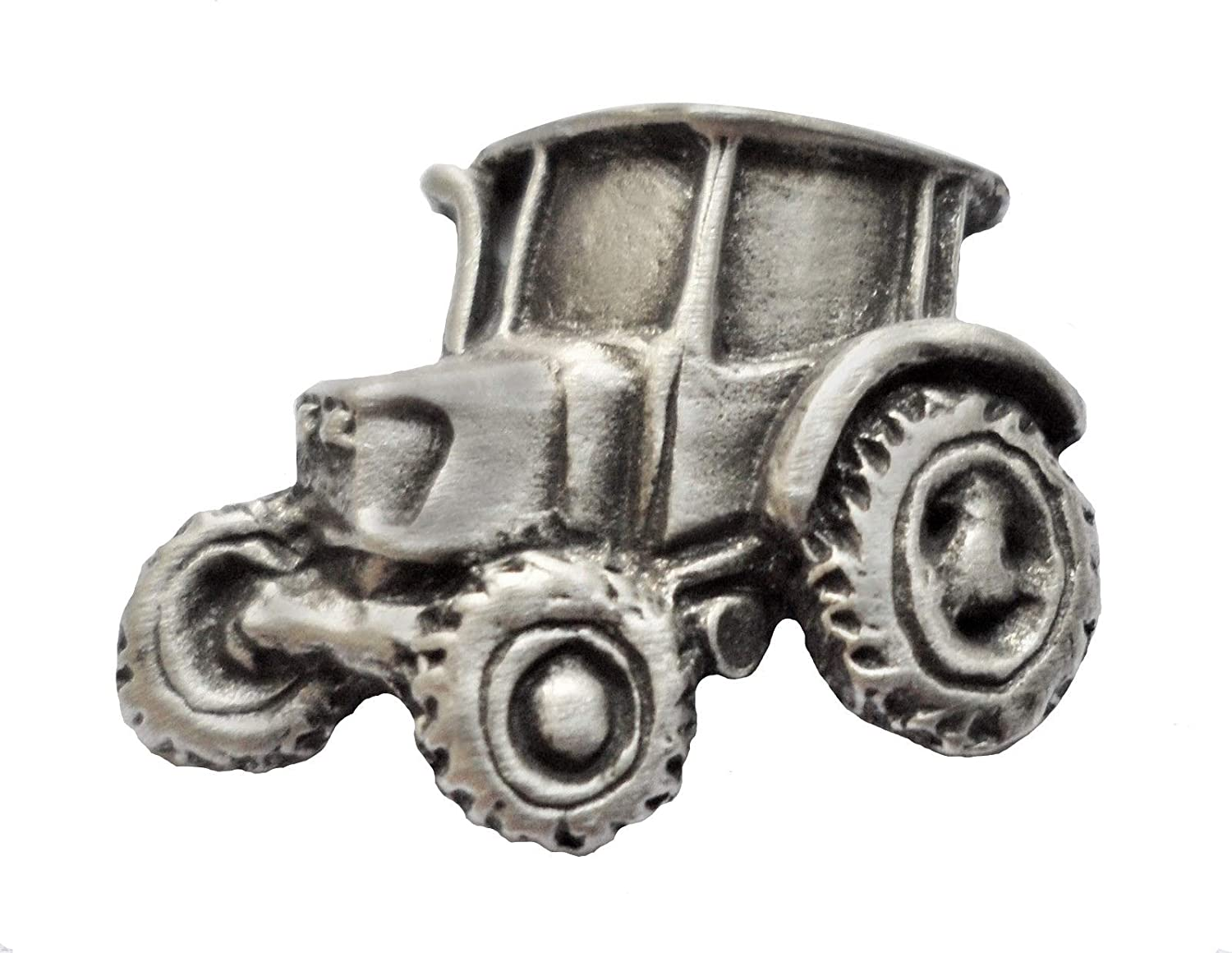 1000 Flags Modern Tractor Pewter Pin Badge