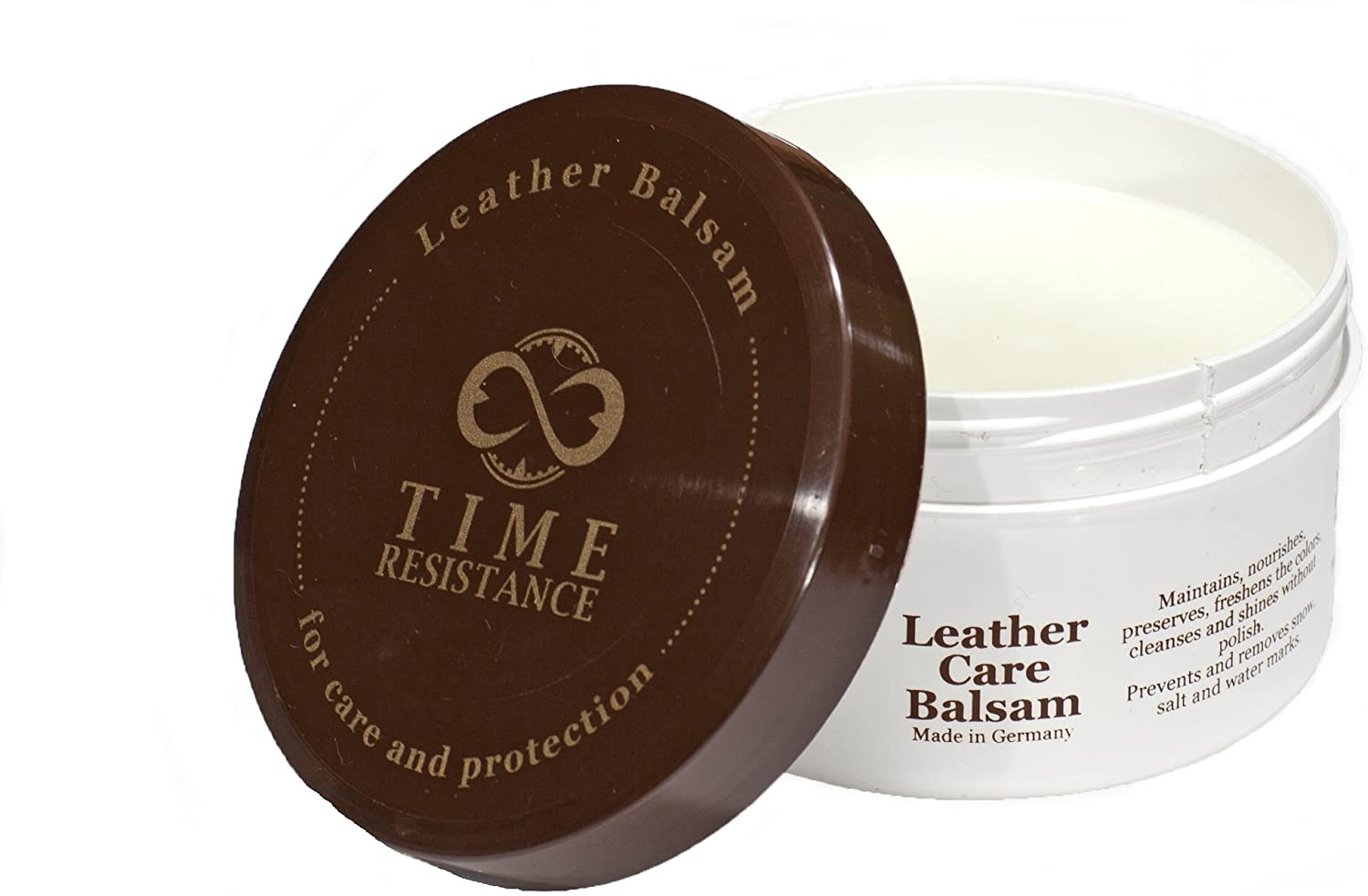 Leather Balsam for Shoes, Bags and Furniture Care and Protection - Time Resistance
