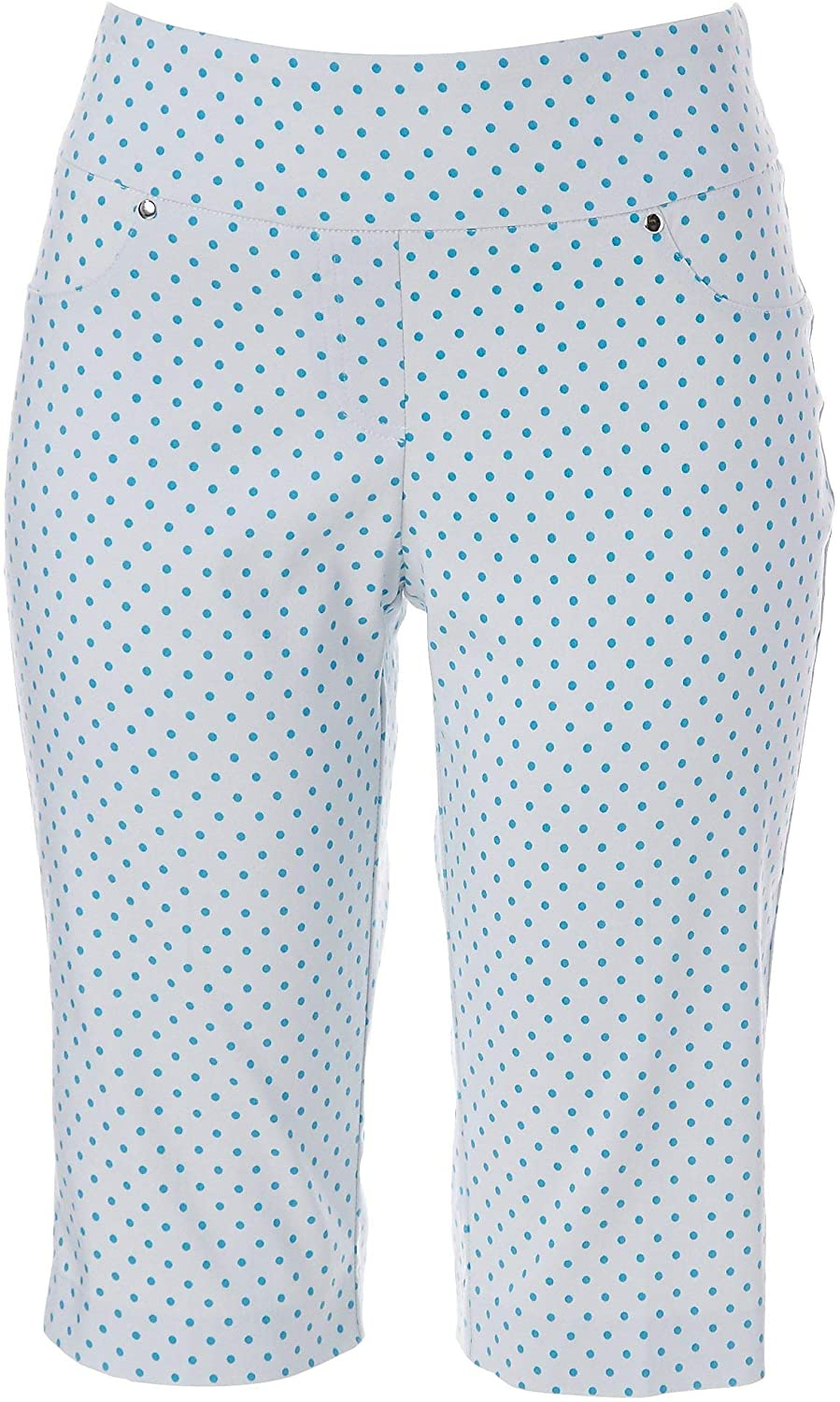 Hearts of Palm Womens Stripes and Sails Dot Skimmer Shorts
