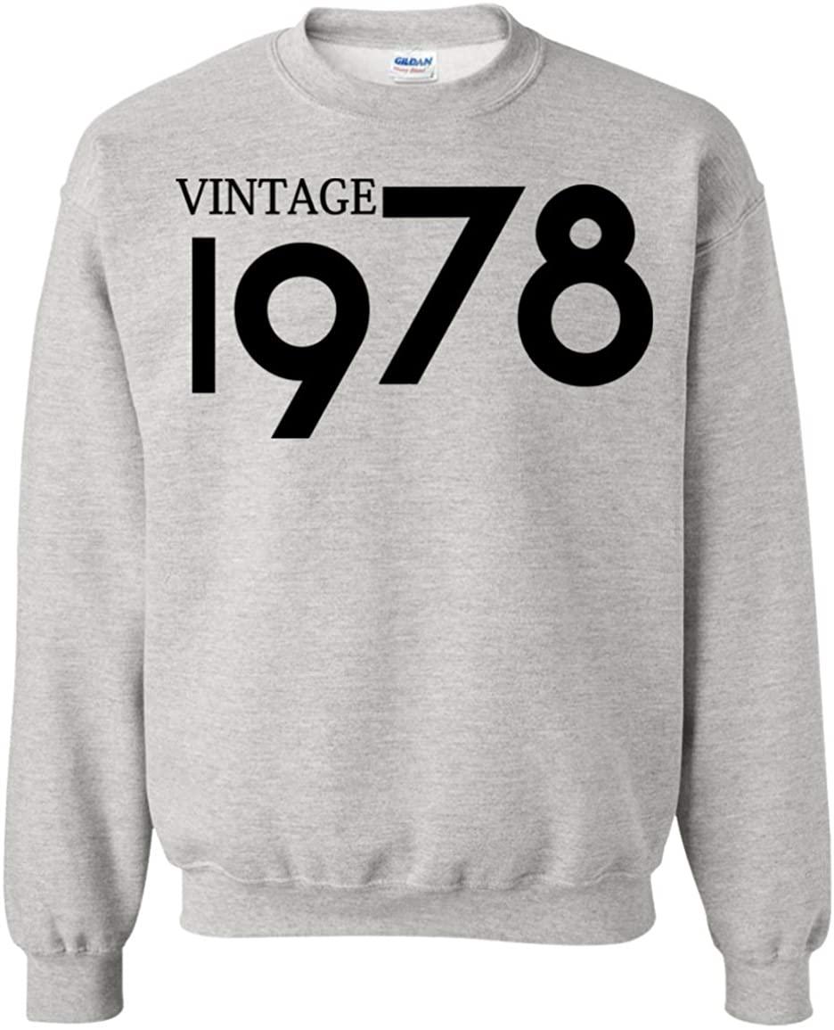 40th Birthday Best Gift Vintage 1978 Crewneck Sweatshirt