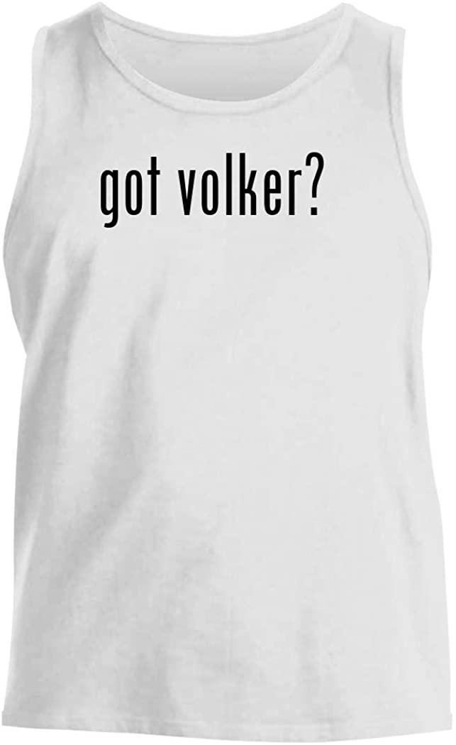 got volker? - Men's Comfortable Tank Top, White, Small
