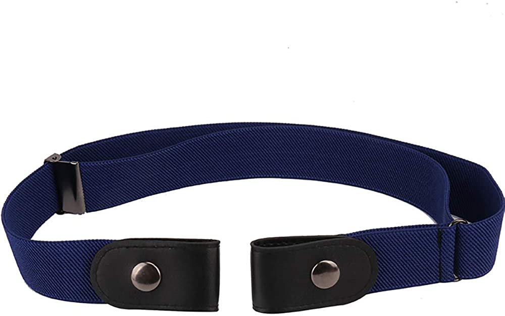 VOCHIC Buckle Free No Show Elastic Belt for Jeans Mens Womens Invisible Belt