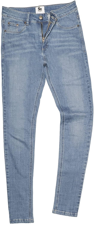 Awdis So Denim Womens/Ladies Lara Skinny Fit Jeans (14R) (Light Blue Wash)
