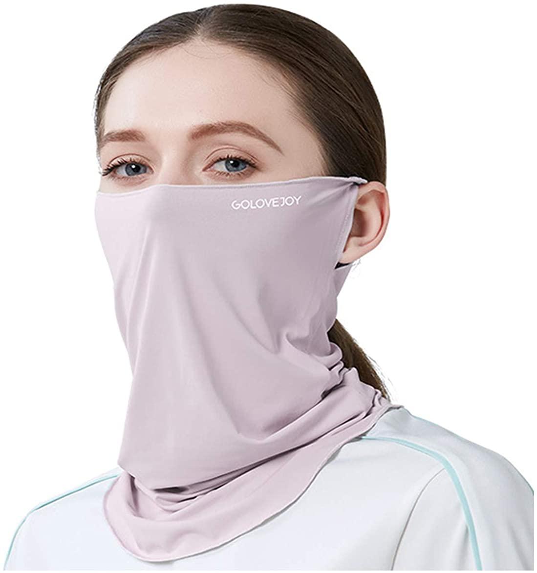 keland UV Protection Face Cover Mask Sunscreen Breathable Bandana Neck Gaiter Scarf for Hot Summer Sport&Outdoor