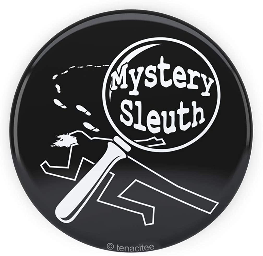 Tenacitee Mystery Sleuth Pinback Button