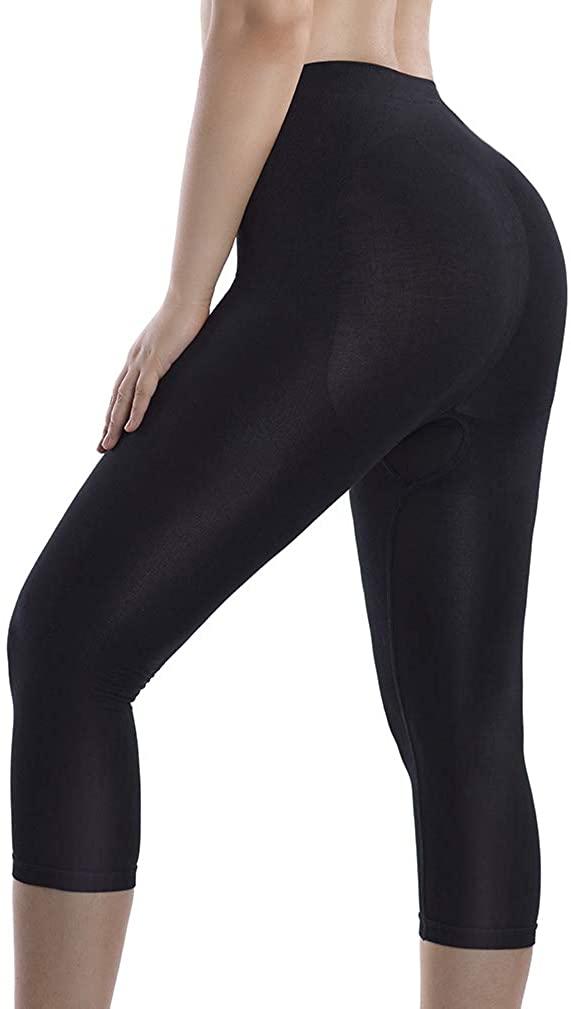 MD Womens Shapewear Legging High Waist Thigh Slimmer Tummy Control Panties Body Shaper Butt Lift