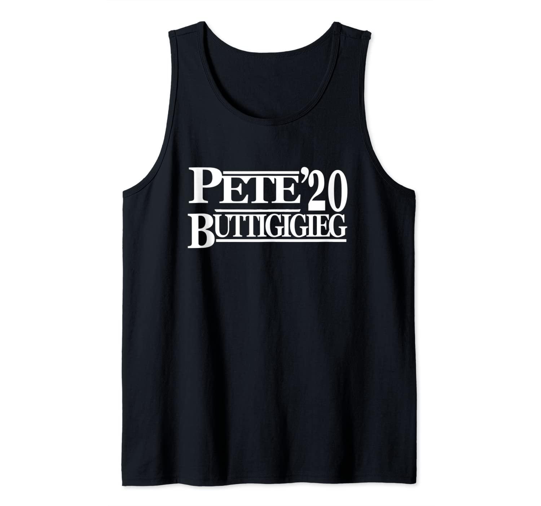 Pete Buttigieg 2020 - Vintage Style Campaign Gear Tank Top