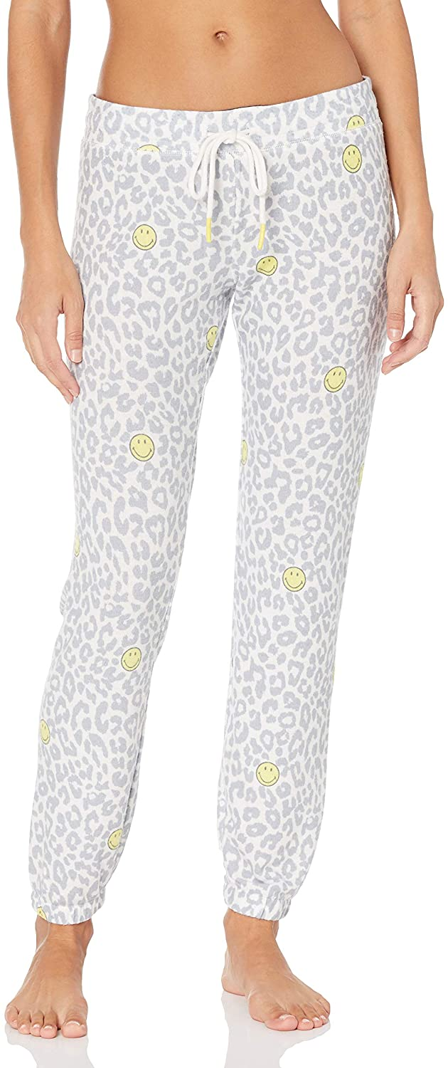 PJ Salvage Women's Smiley Banded Pant
