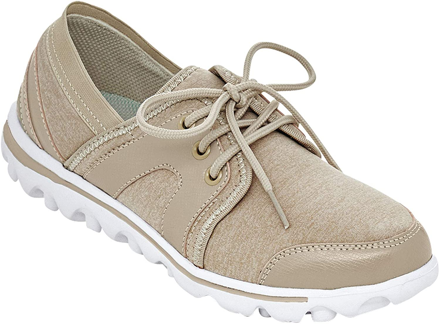 Propet Womens Olanna Lace Up Sneakers Casual Sneakers,