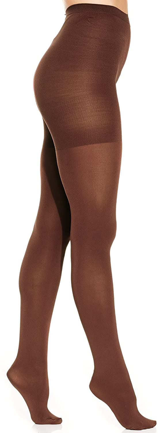 Star Power by Spanx Women's Shaping Tights (F, Java)