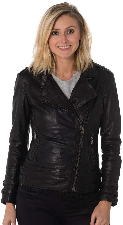 Women's Genuine Lambskin Leather Jacket 74