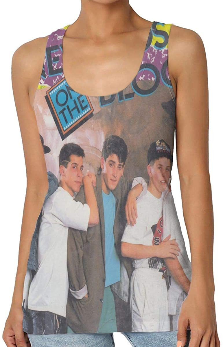 MaMing New Kids On The Block Women Fashion Sleeveless Vest Home Office Vests
