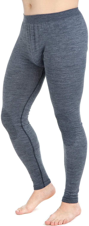 Wool Skiing Tights – Thermal Lightweight Compression Leggings Base Layer – Warm Ski Underwear