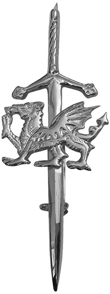 AAR Brand New Wales Dragon Kilt Pin 4