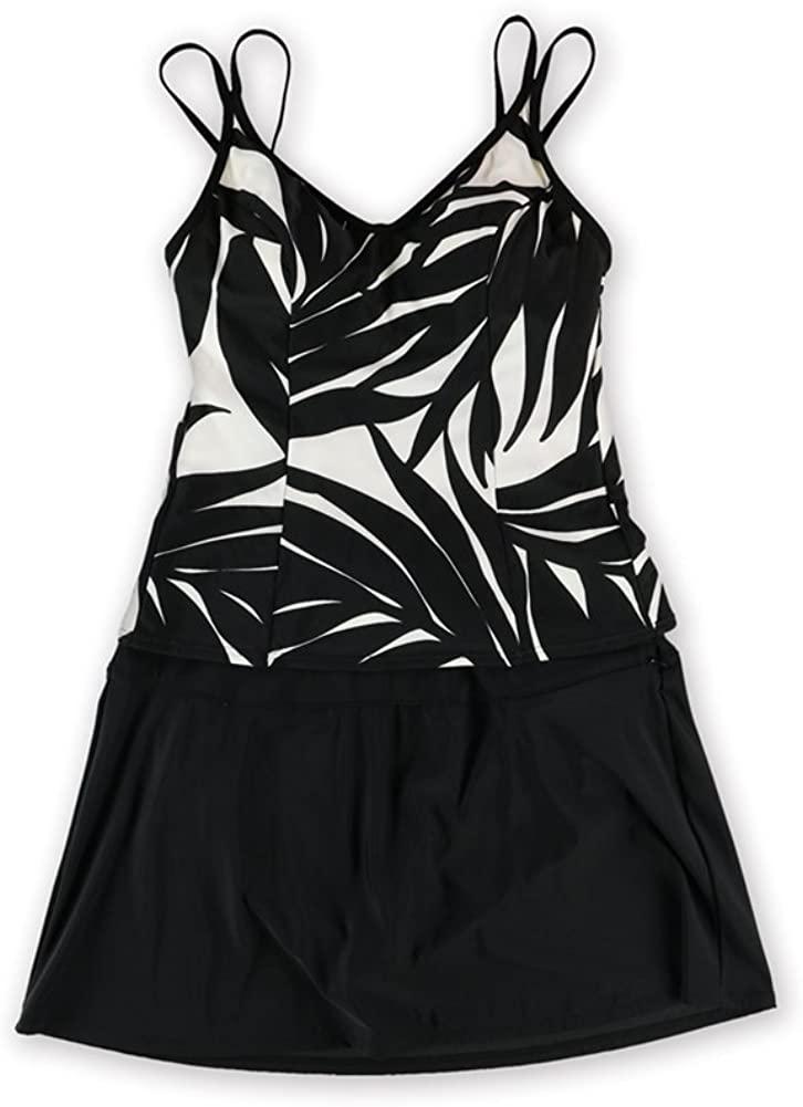 Miraclesuit Womens Malibu Skirt 2 Piece Tankini