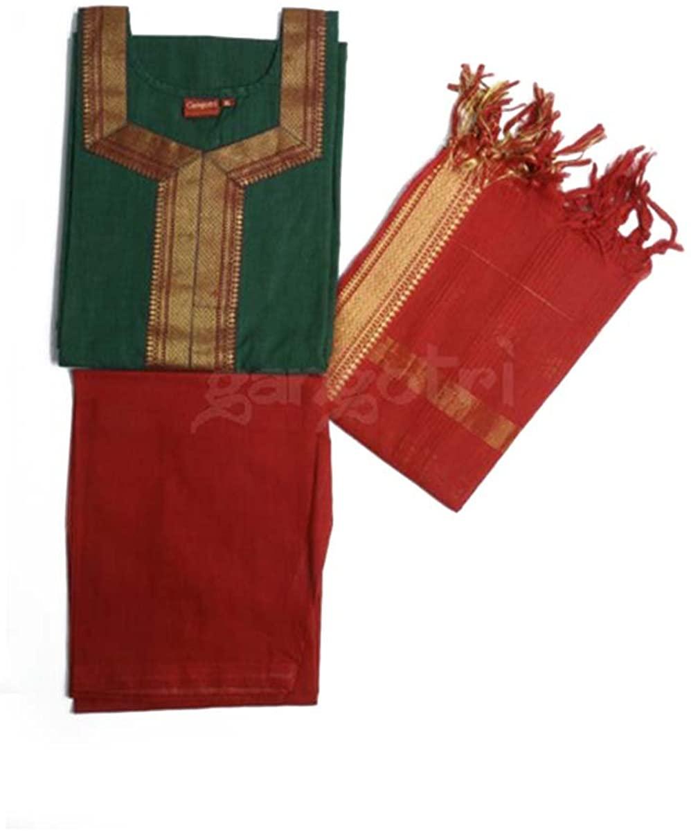 Girls Punjabi Suit South Cotton
