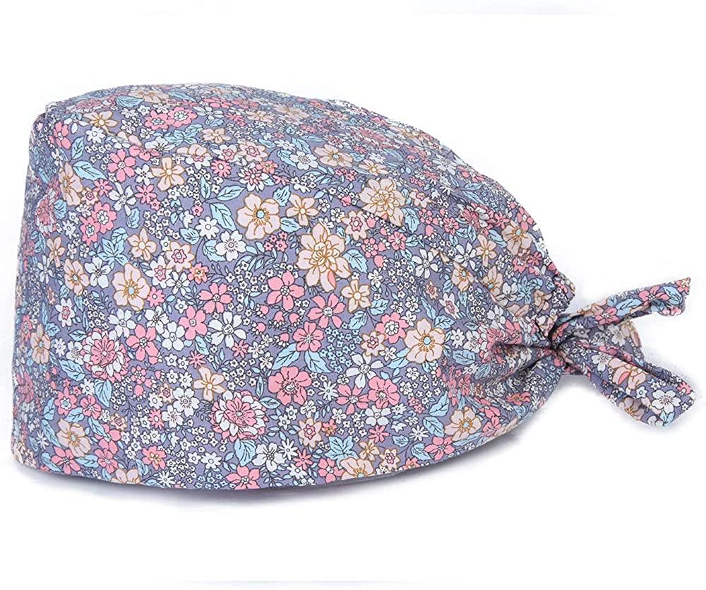 ZIPEI Lace-Up Cap Skullies & Beanies with Upgraded Sweatband Adjustable Fluffy Cap Headdress-Ladies/Men
