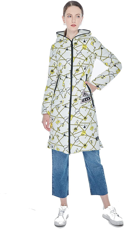 YunSun Women's Down Jacket Down Parka Puffer Coat
