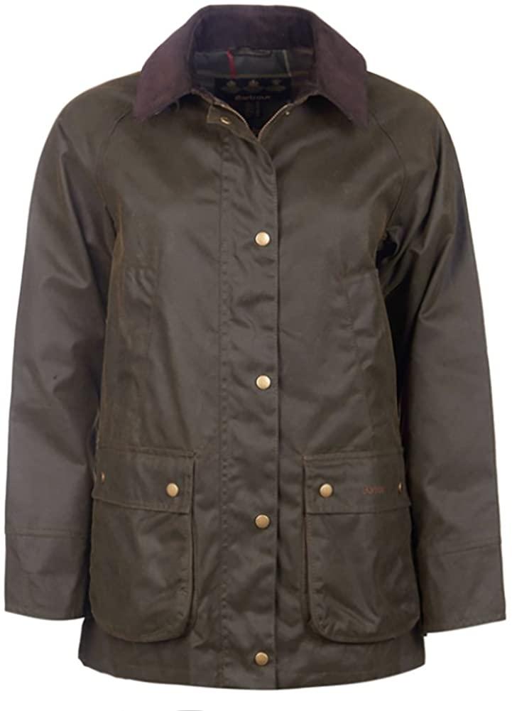 Barbour Women's Acorn Wax Jacket LWX0752OL51, Olive