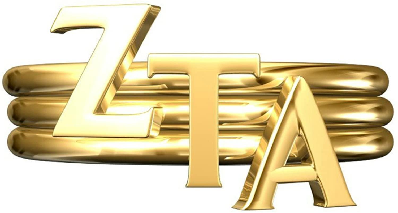 A-List Greek Zeta Tau Alpha Sorority Stack Rings