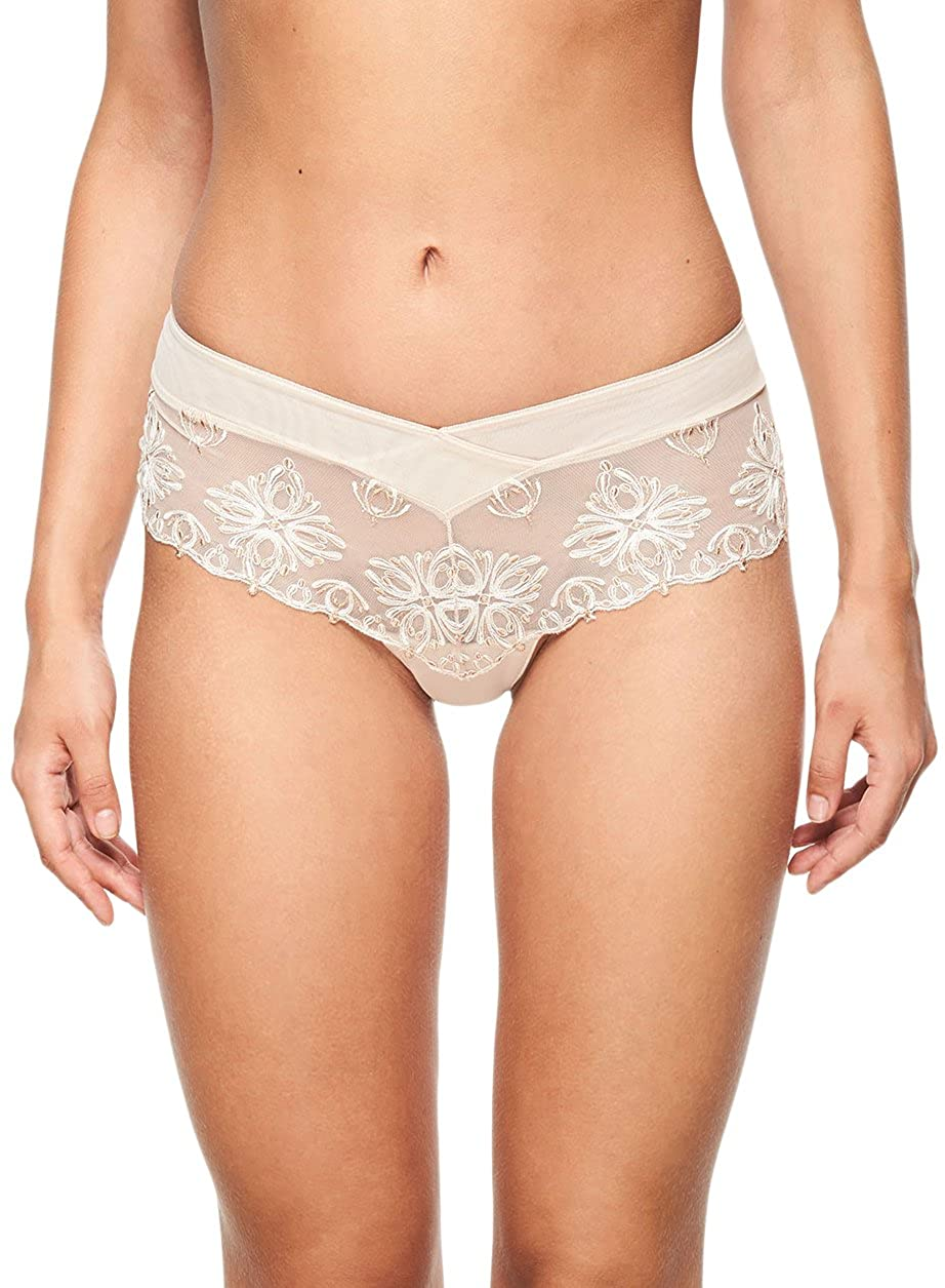 Chantelle Women's Champs Elysees Lace Hipster Panty 2604 XS Cappuccino