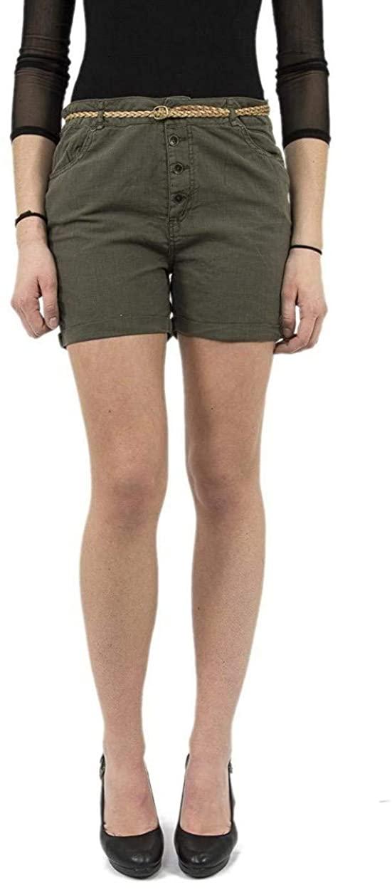 Kaporal Jeans - Short Woman kaki Color Kaporal fago