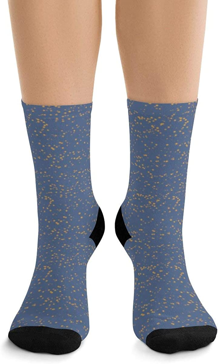 Snow Little Dots Classic Royal Blue II DTG Socks