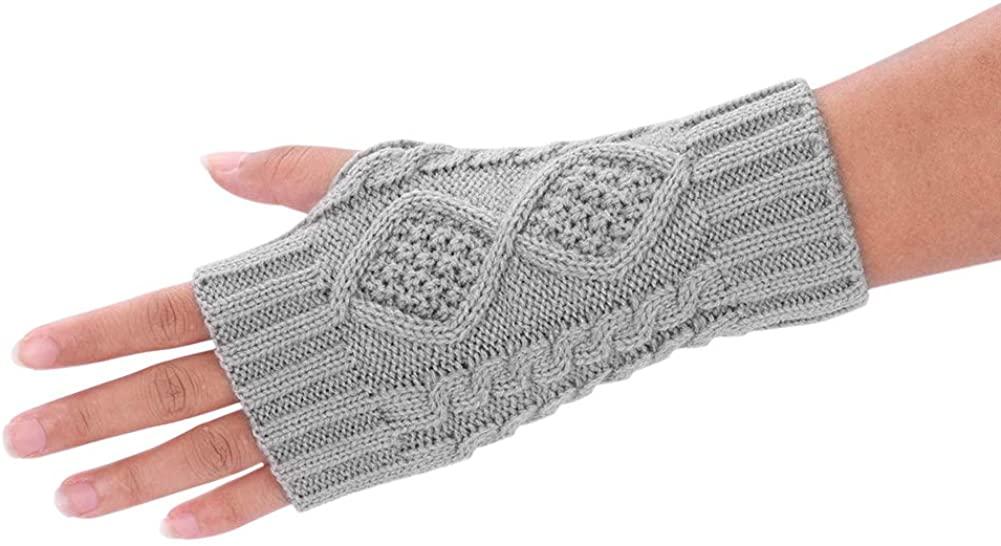 Women Girls Gloves Mittens Arm Warmers Winter Thermal Gloves Hand Arm Gloves Hand Wear for for Keeping Warm