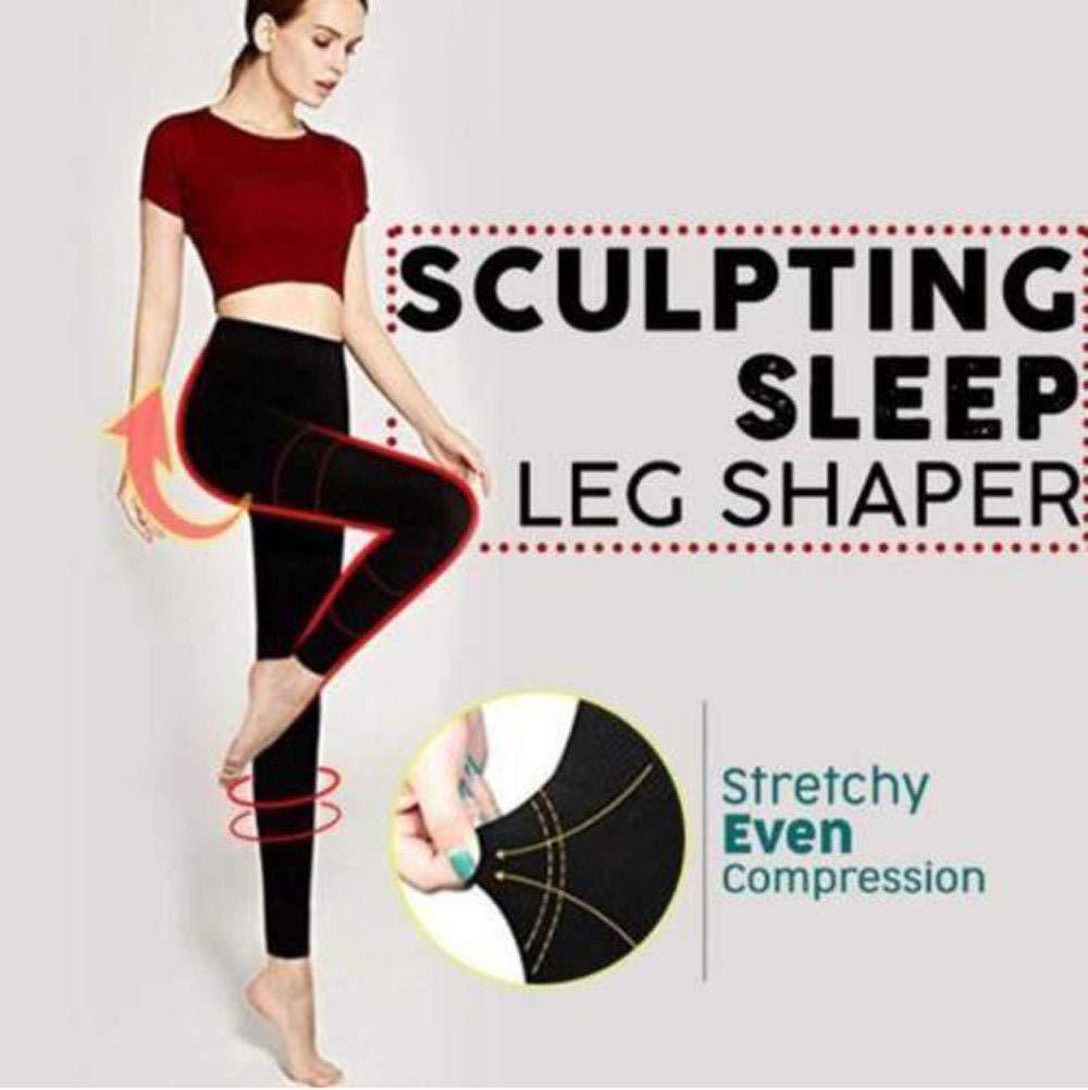 Valentine's Best Gift!!!Kacowpper Sculpting Sleep Leg Shaper Pants Legging Socks Women Body Shaper Panties