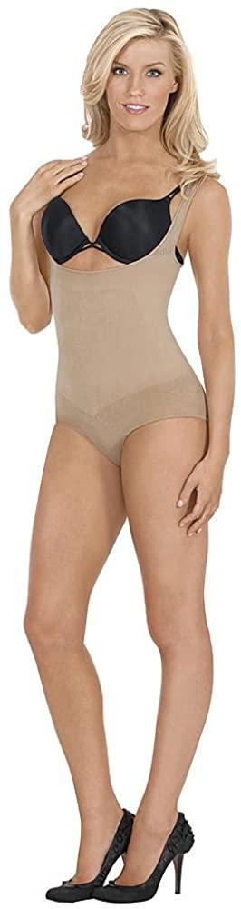Julie France Ladies Frontless Panty Shaper JFL00 -NUDE M
