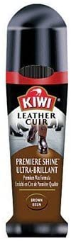 Kiwi 11313 2.5 Oz Brown Leather Premiere Shine Shoe Polish