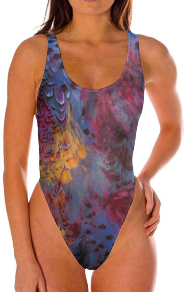 Kiniki Amalfi Blue Tan Through Thong Swimsuit