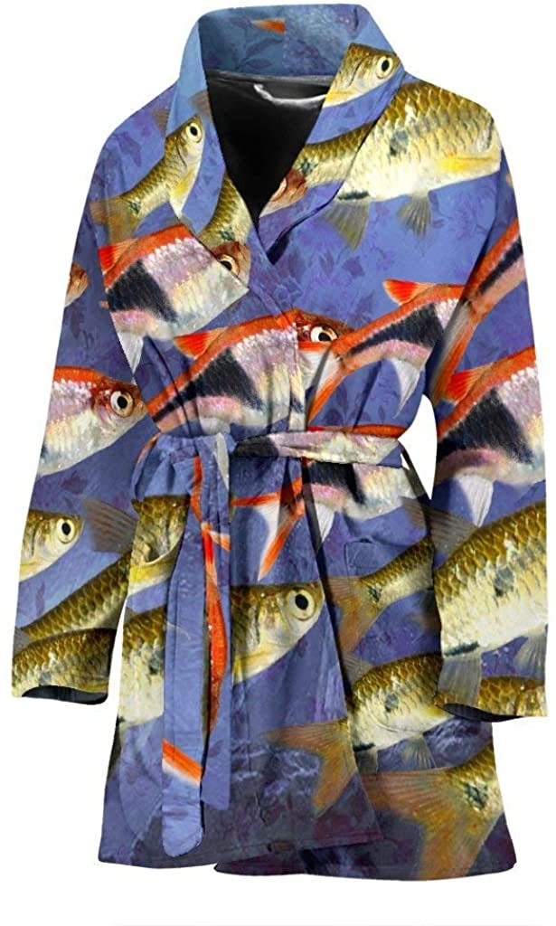 Pawlion Seluang Fish Print Women's Bath Robe