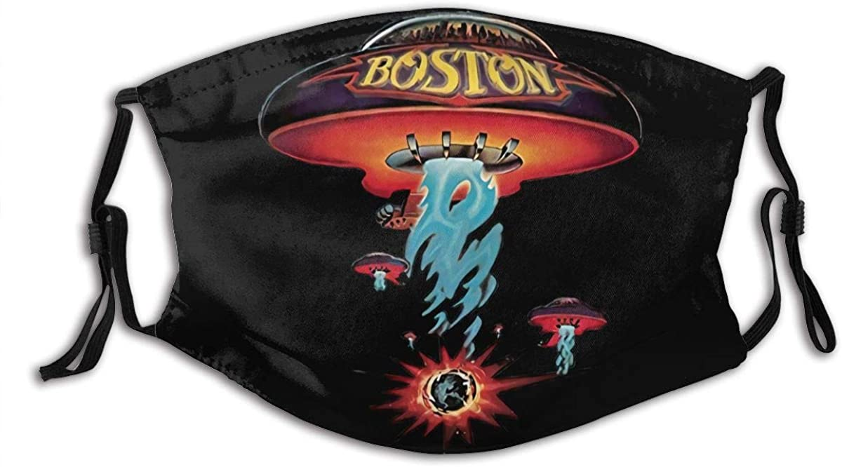 Boston SpaceshipFunny black digital 3D printingTrainingGhost faces