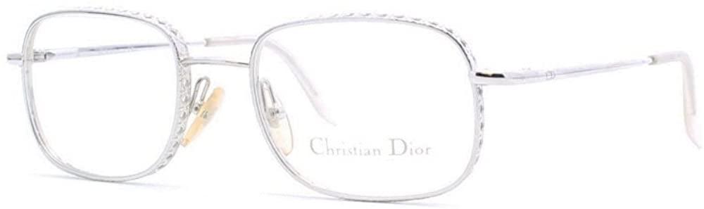 Christian Dior 3518 70 B Silver Authentic Women Vintage Eyeglasses Frame