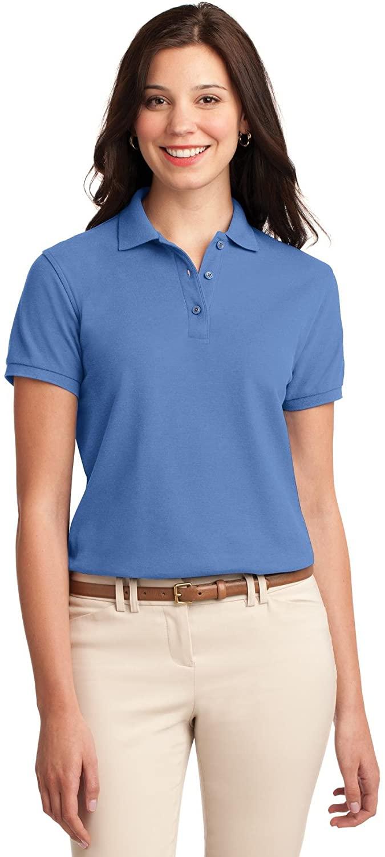 XtraFly Apparel Women's Silk Touch Polo Shirt L500 Ultramarine Blue