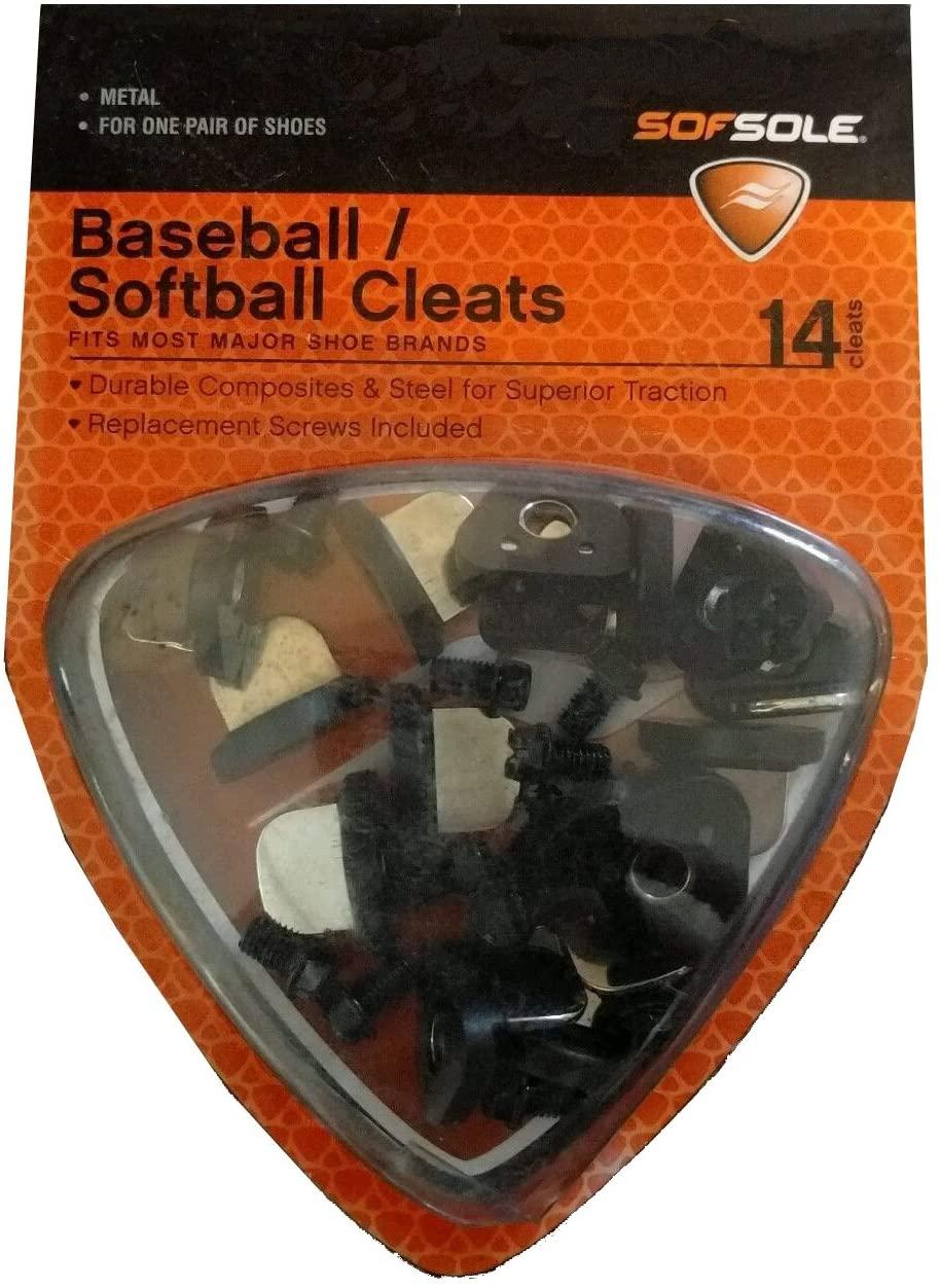 Sof Sole Steel/Plastic Baseball Cleat
