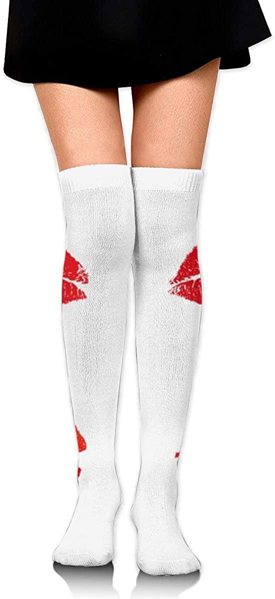Game Life High Socks Red Lips Sport Socks Crew Socks