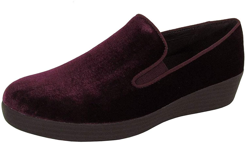 FitFlop Women's Superskate Slip-On Skater Loafers Shoes