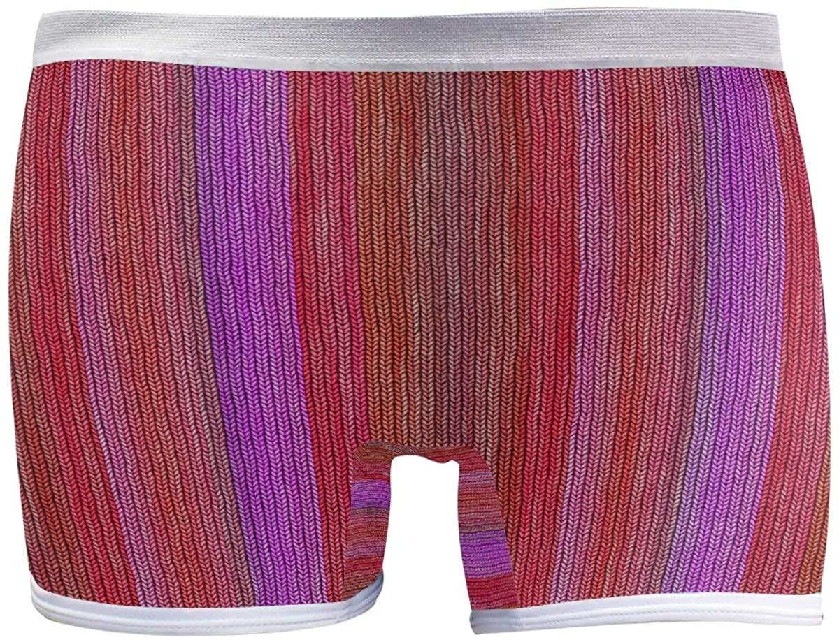 SLHFPX Womens Hipster Panties Underwear Seamless Tartan Fabric Pattern Ladies Comfort Boyshort Panty