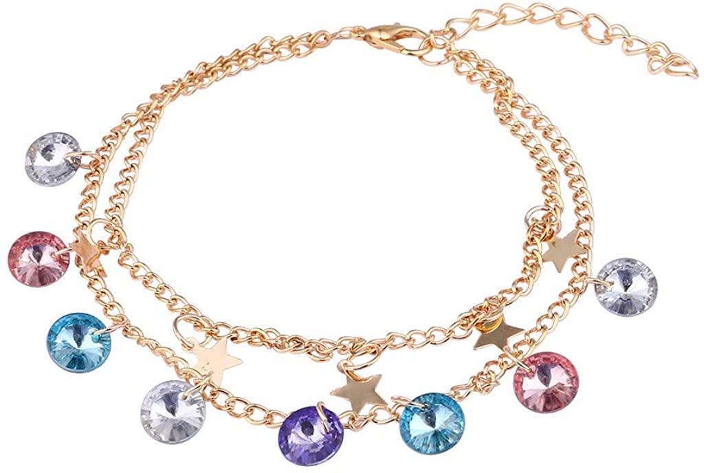 Zoilmxmen Pendant Bracelet, Simple Ethnic Style Resin Bracelet Retro Female Creative