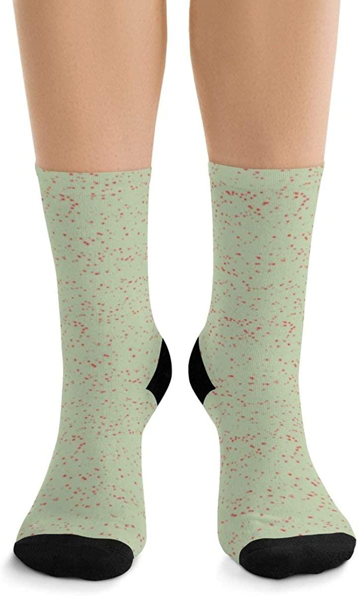 Snow Little Dots Resene Pixie Green III DTG Socks