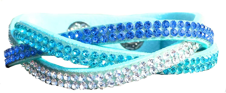 Elegant by Design Rhinestone Wrap Bracelet